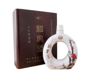 圣塔三十年陈酿花红月圆珍品花雕酒