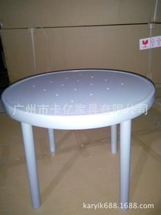 工厂低价生产批发金属桌子 铝合金桌子 休闲桌子