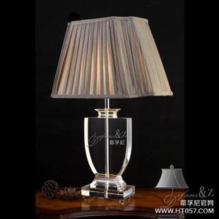 装饰水晶台灯/k9水晶台灯/欧式高档台灯/卧室床头灯