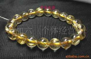 天然钛晶手链8mm 水晶手链 天然水晶手链 礼物