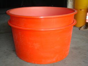 河南1.5吨塑料大水桶 食品级PE塑料敞口桶 1500L纺织桶 厂家批发