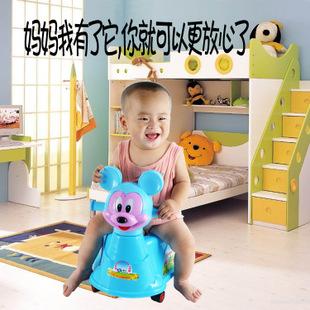 婴幼儿坐便器儿童坐便器宝宝坐便器马桶小孩尿盆加轮子厂家批发