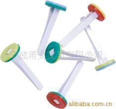 彩色塑料文件装订扣 塑料盒装 文具配件  装订塑料扣YWB-019