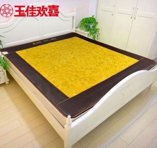 批发 玉石床垫 锗石床垫 双温双控加热床垫 托玛琳远红外保健床垫