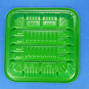一次性生鲜托盘 正方形塑料托盘 超市食物托盘 蔬菜水果托盘