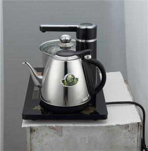 雅灶自动上水电热水壶不锈钢烧水茶炉加水抽水器茶具