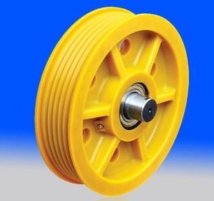 电梯尼龙轮/电梯导向轮/电梯滑轮/电梯轮子/电梯轿顶轮/电梯对重