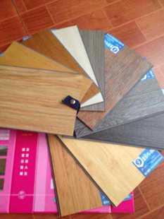 PVC锁扣片材地板