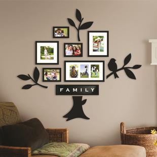 8框组合相框 创意造型 现代简约风格照片墙相框墙相片墙 客厅装饰图片