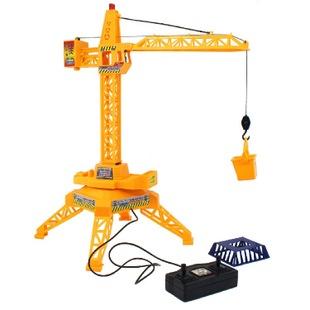大扬9803线控塔吊电动遥控工程玩具电动儿童塔吊吊车吊机玩具混批