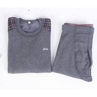 男装秋裤绒裤冬装保暖冬季厂家批发地摊保暖裤保暖套装