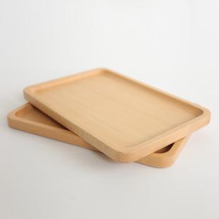 长方形木盘子 实木碟子餐盘/茶盘/木质餐盘子