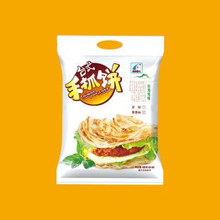 新品原味手抓饼面饼 台湾风味 原味装煎饼手撕饼速冻食品油饼