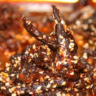 自制牛肉干四川成都特产手撕牛肉干油辣条香辣散装零食牛肉干批发