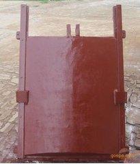 厂家直销铸铁闸门1米*1 米双向铸铁闸门启闭机闸门渠道闸门