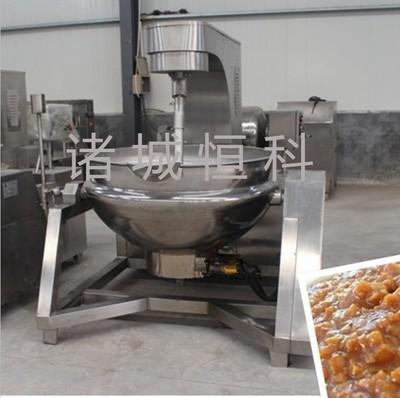 厂家直销肉制品蒸煮锅 全自动炒酱锅 大型商用炒锅 全国销售