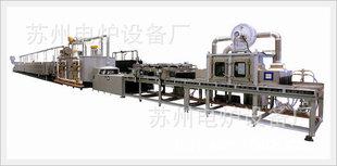 可控气氛铝合金钎焊生产线-网带式