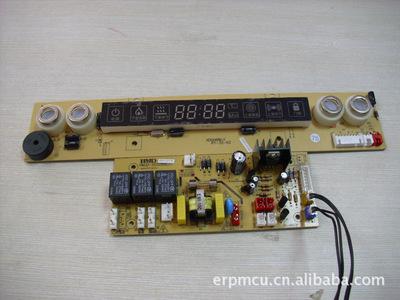 充电式头灯电路板连接线实物图