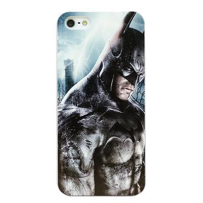 KKMM iPhone 5手机套 欧美风 蝙蝠侠 蜘蛛侠