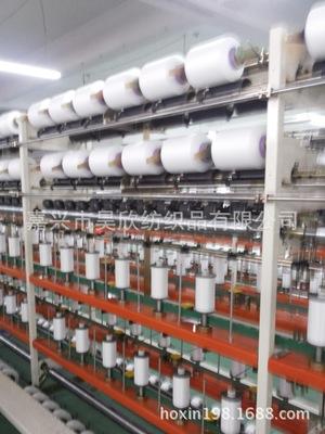 特价供应本白半消光锦纶6包覆丝2030/12F干纺氨纶机包包覆纱