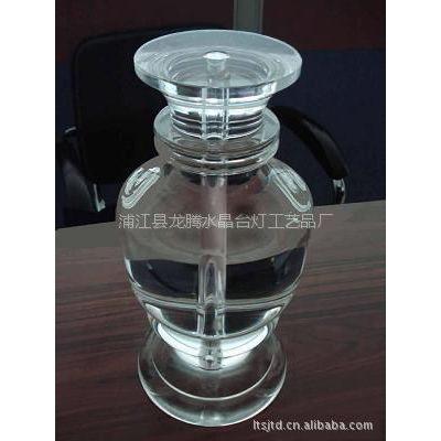 大量供应水晶手工艺制品水晶台灯配件承接定做价格需面谈