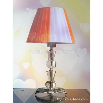 供应现代简约时尚水晶台灯卧室床头客厅灯具灯饰C-009