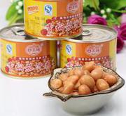 休闲食品罐头食品香焖茄汁花生罐头休闲小吃零食