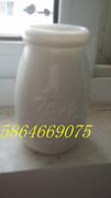 酸奶瓶,酸奶罐,酸奶杯,老酸奶瓶,老酸奶罐,酸奶玻璃瓶,酸奶玻璃罐,乳白玻璃酸奶瓶,乳白玻璃奶瓶,乳白玻璃酸奶罐*47
