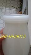 酸奶瓶,酸奶罐,酸奶杯,老酸奶瓶,老酸奶罐,酸奶玻璃瓶,酸奶玻璃罐,乳白玻璃酸奶瓶,乳白玻璃奶瓶,乳白玻璃酸奶*41