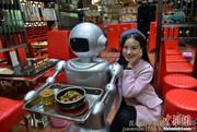 送餐机器人供应_款送餐机器人厂家