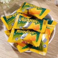 龙客食品厂家直销芒果口味夹心软糖超Q弹芒果夹心软糖QQ糖