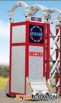 佛山三水电动门厂家伸缩门生产安装