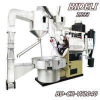 必德利40KG咖啡烘焙机半热风半直火式咖啡豆烘焙机设备烘焙机械