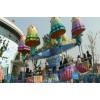 北京逍遥水母豪华游乐设备占地10米一款桑巴气球的升级版