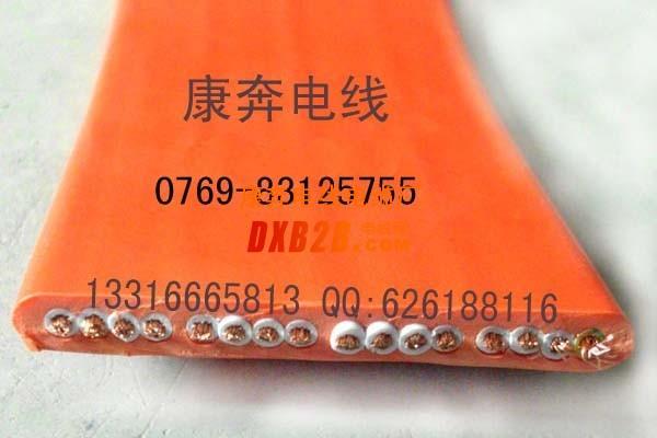 东莞扁电缆,13芯1.5平方扁平电缆