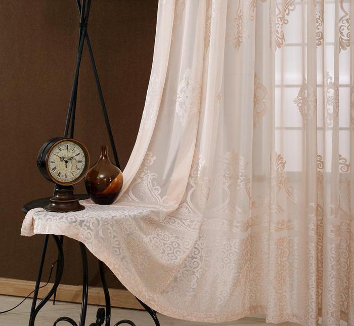 定制特价清仓窗帘纱帘阳台纱客厅成品落地窗纱飘窗卧室沙帘布料6