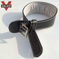 VALEO運動護腰舉重深蹲牛皮腰帶跑步腰間盤體育用品健身器械護具