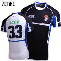 厂家直销英式橄榄球服定制英式橄榄球服夏季英式橄榄球服