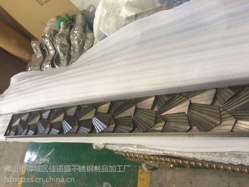 佳诺盛不锈钢装饰条青古铜不锈钢装饰条乌龟壳造型