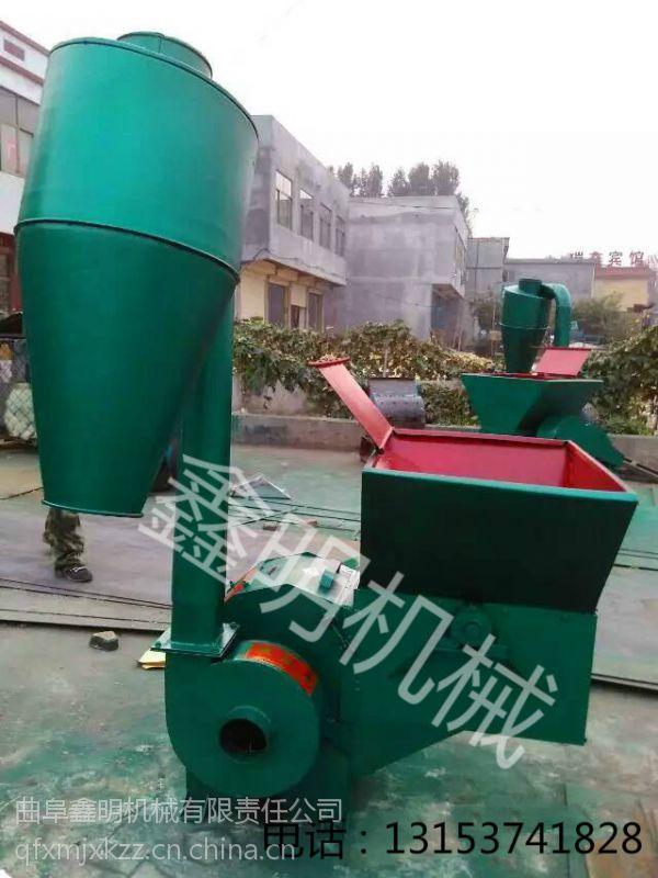 秸秆粉碎机图片玉米粉碎机多功能饲料粉碎机自动进料粉碎机