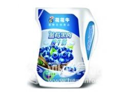 蓝莓果肉酸奶