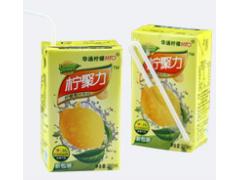 华通柠檬柠聚力250ml柠檬饮料柠檬茶原味柠檬果汁