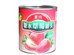 夏均烘焙草莓罐头