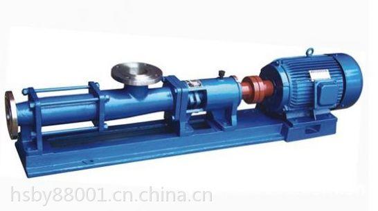 螺杆泵厂家江苏螺杆泵厂家螺杆泵生产厂家江苏鸿胜泵业科技