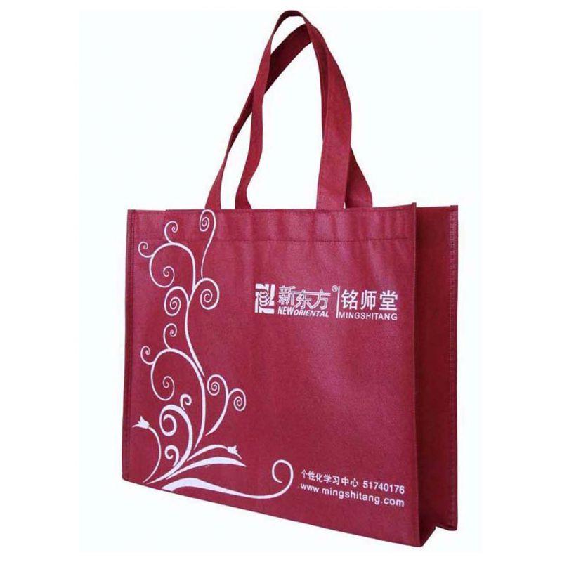 桂林供应学校广告宣传袋购物袋无纺布环保手提袋