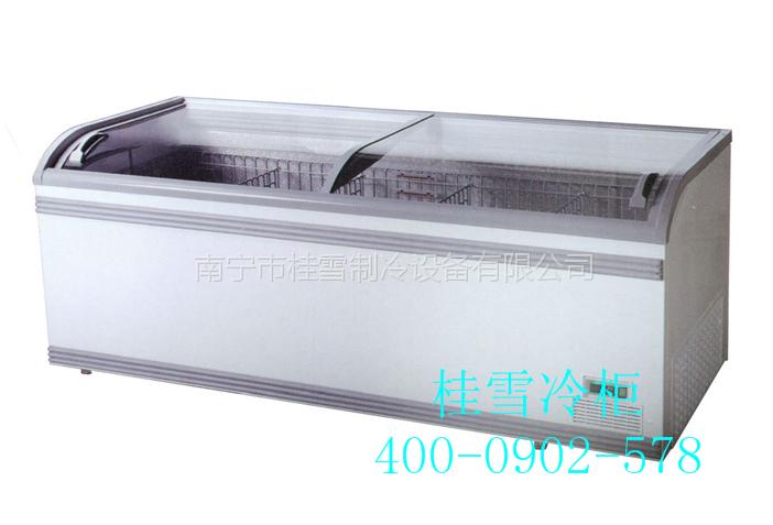 供应广西百色超市桶装冰淇淋专用冰柜