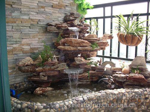 室內水景設計,室內景觀設計,噴泉水景