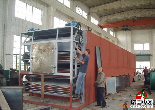 环保:红枣干燥机,红枣烘干设备,大枣带式干燥设备