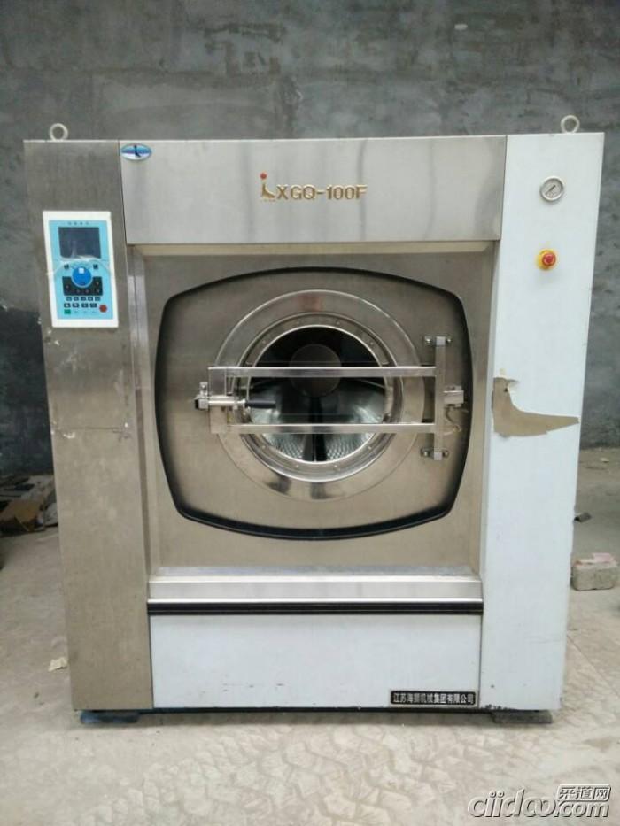 山东菏泽二手大型貂皮服装四氯干洗机价格去哪买二手干洗机