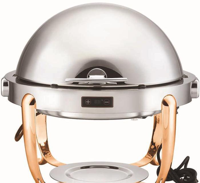 商用厨房自助餐设备精工调温全翻盖宴会餐炉TCB系列